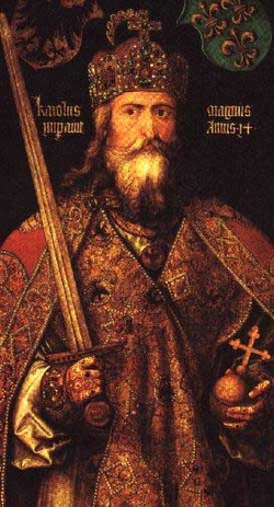 Emperor Charles the Great Charlemagne
