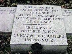 Chicago Volunteer Firefighter's Memorial