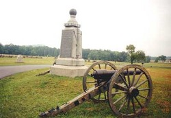 1st New Jersey Light Artillery, Battery B Monument