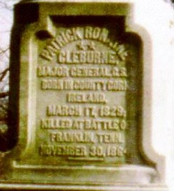 Gen Patrick Ronayne Cleburne