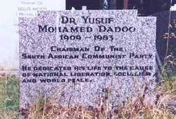 Yusuf Mohamed Dadoo