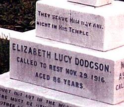 Elizabeth Dodgson
