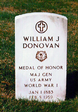 William Joseph Wild Bill Donovan