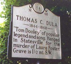 Tom Dooley Gravesite