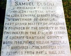 Samuel Elbert