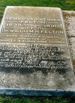 Rebecca <i>Latimer</i> Felton