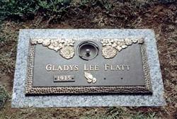 Gladys Lee <i>Stacy</i> Flatt