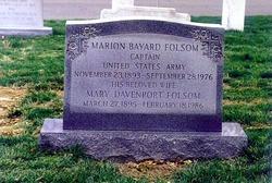 Marion Bayard Folsom