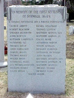 Founders of Norwalk Memorial