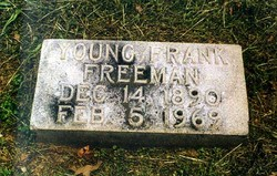 Young Frank Freeman