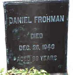 Daniel Frohman