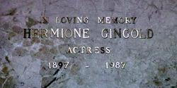 Hermione Ferdinanda Gingold
