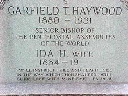 Garfield Thomas Haywood