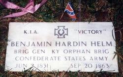 Gen Benjamin Hardin Helm