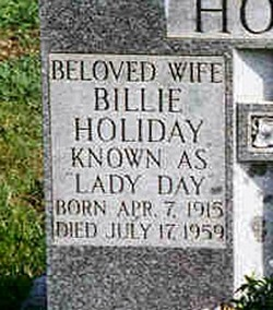 Billie Lady Day Holiday