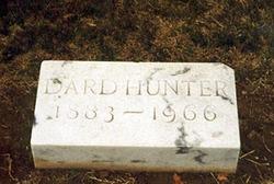 William Joseph Dard Hunter