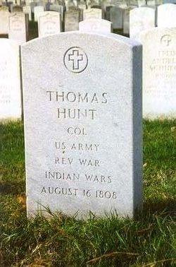 Col Thomas Hunt