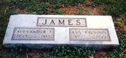 Alexander Frank James