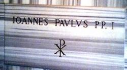 Pope John Paul, I
