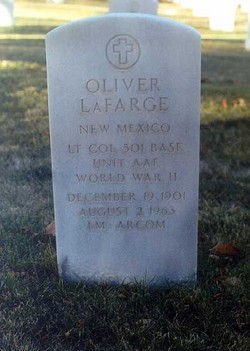 LTC Oliver LaFarge