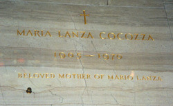 Maria <i>Lanza</i> Cocozza