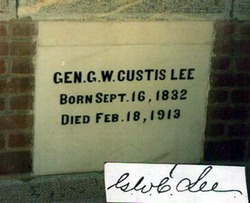 George Washington Custis Custis Lee