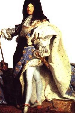 King Louis, XIV
