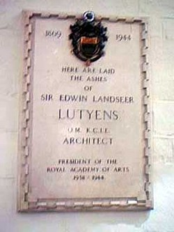 Sir Edwin Landseer Lutyens