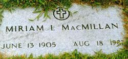Miriam MacMillan