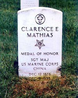 Clarence Edward Mathias