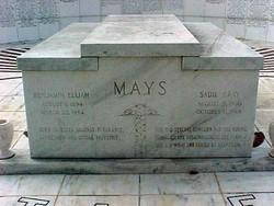 Dr Benjamin Elijah Mays