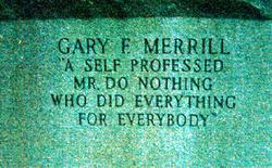Gary Fred Merrill