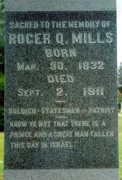 Roger Quarles Mills