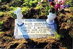 Kate Kathleen Lottie A. Bernard <i>Farmer</i> Morgan