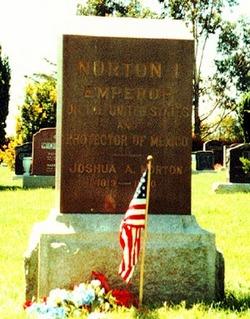 Joshua Emperor Norton I Norton