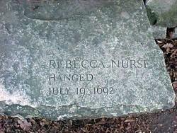 Rebecca <i>Towne</i> Nurse