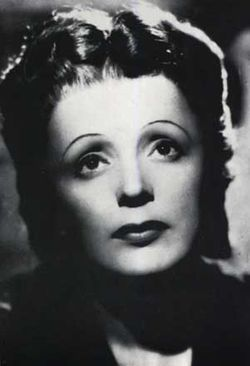 Edith Giovanna Piaf