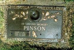 Vada Edward Pinson