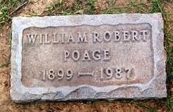 William Robert Bob Poage