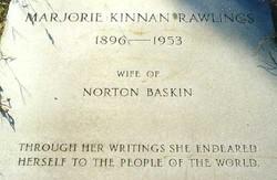Marjorie <i>Kinnan</i> Rawlings
