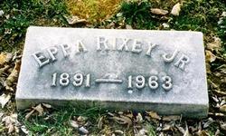 Eppa Jeptha Rixey, Jr