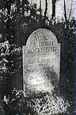 Nelson Aldrich Rockefeller