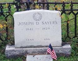Joseph Draper J.D. Sayers