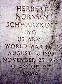 Herbert Norman Schwarzkopf, Sr