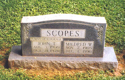 John Thomas Scopes, Sr