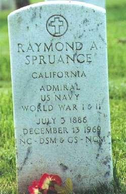 Adm Raymond Ames Spruance