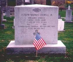 Gen Joseph Warren Vinegar Joe Stilwell, Jr