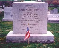 Joseph Warren Vinegar Joe Stilwell, Sr