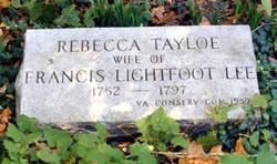 Rebecca Tayloe