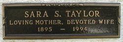 Sara Southern Taylor